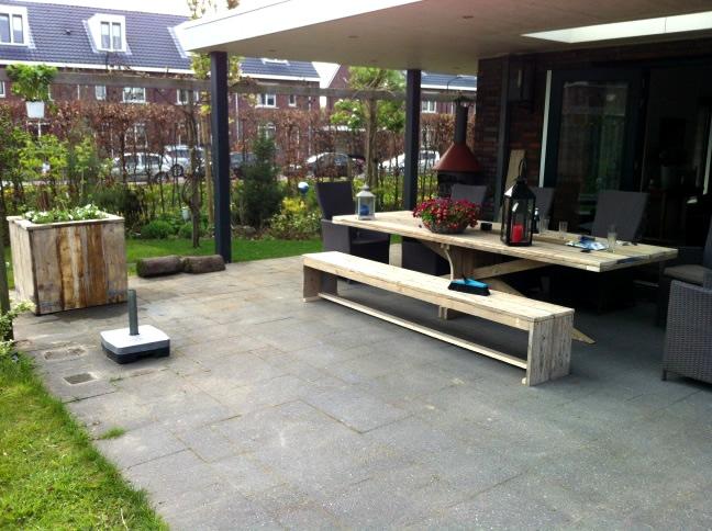 Workshop cursus zelf een steigerhouten tafel maken for Zelf een tuintafel maken