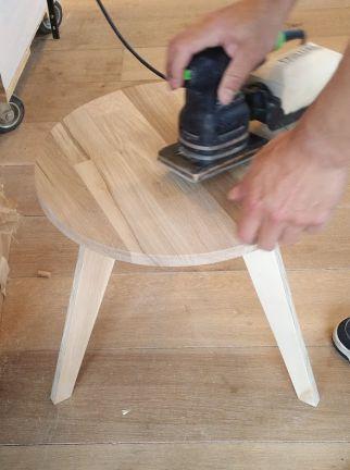 Workshop meubelmaken - klein tafeltje maken voor beginners