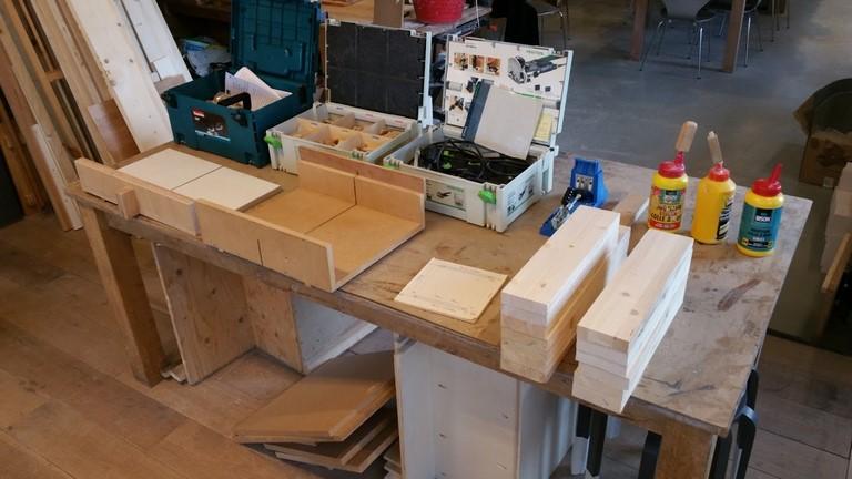 Workshop zaagslede maken voor uw eigen tafelcirkelzaag.