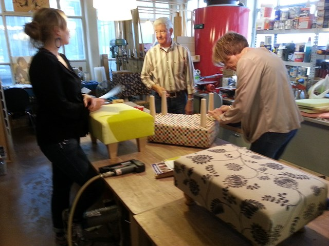 Workshop Meubelstofferen