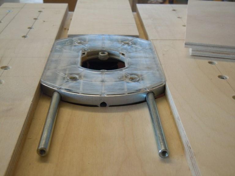 workshop freestafel - vlak voor het installeren van de exacte passing