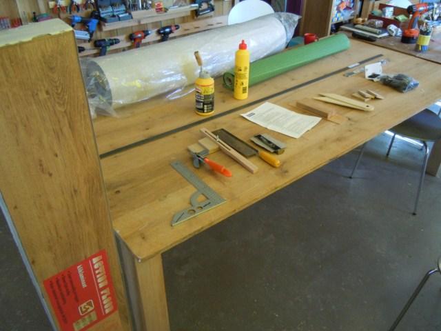 Welk gereedschap is handig bij het laminaatleggen