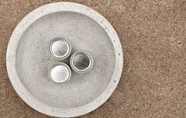 wasbak met beton cire stuken